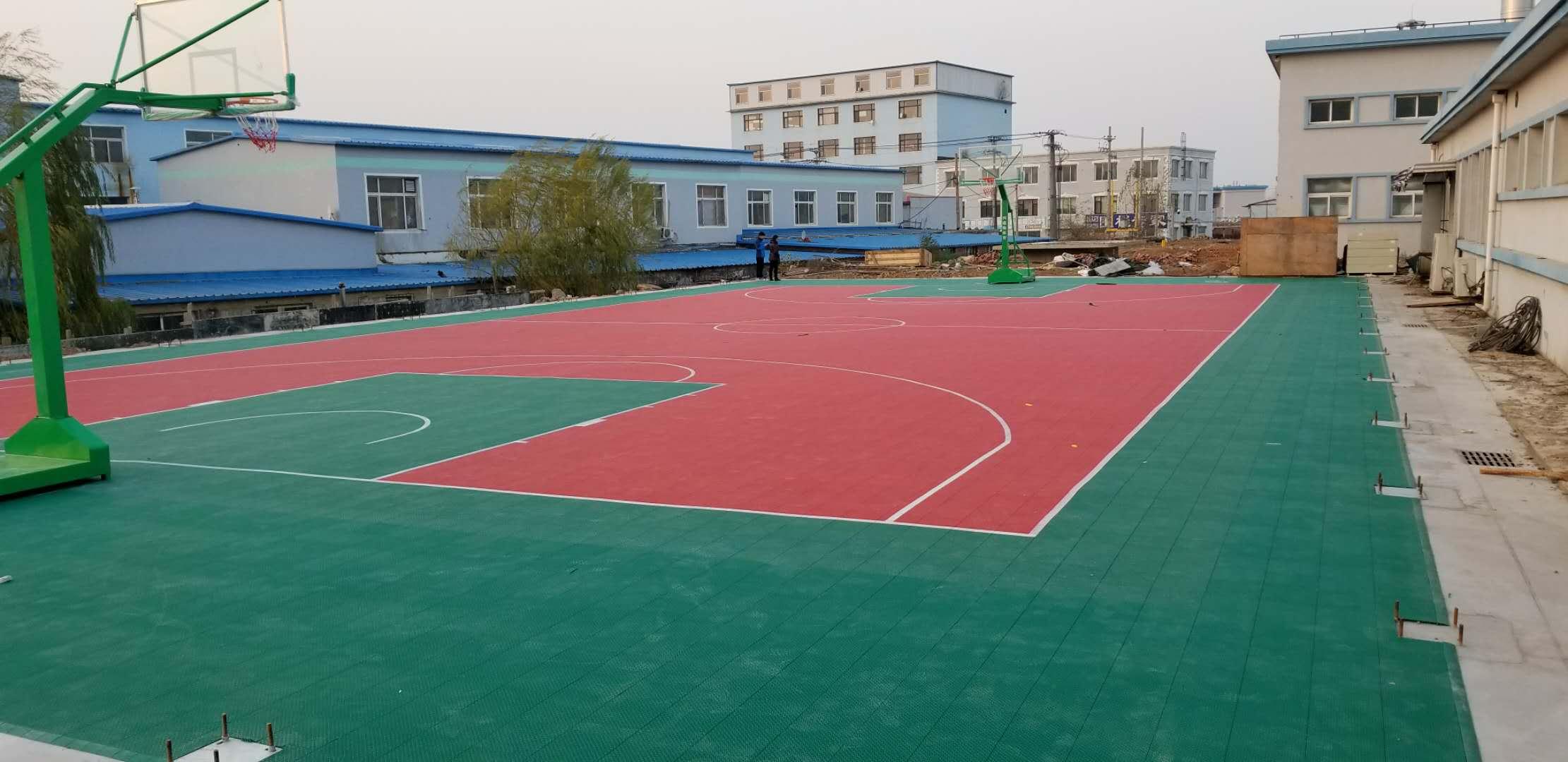 沈阳北动车运用所悬浮千赢国际客户端篮球场