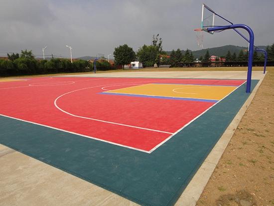 快大茂镇篮球场