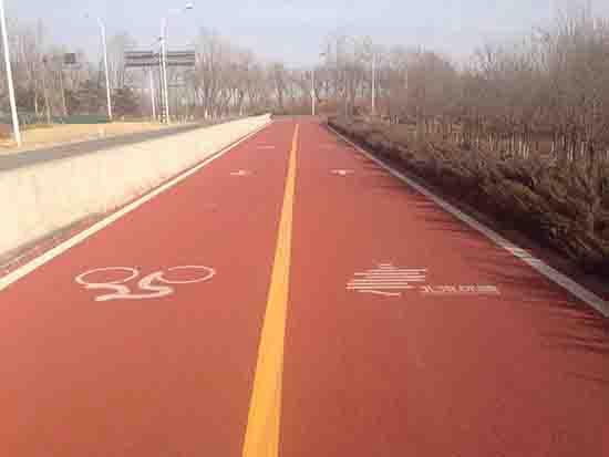 彩色沥青,彩色防滑路面